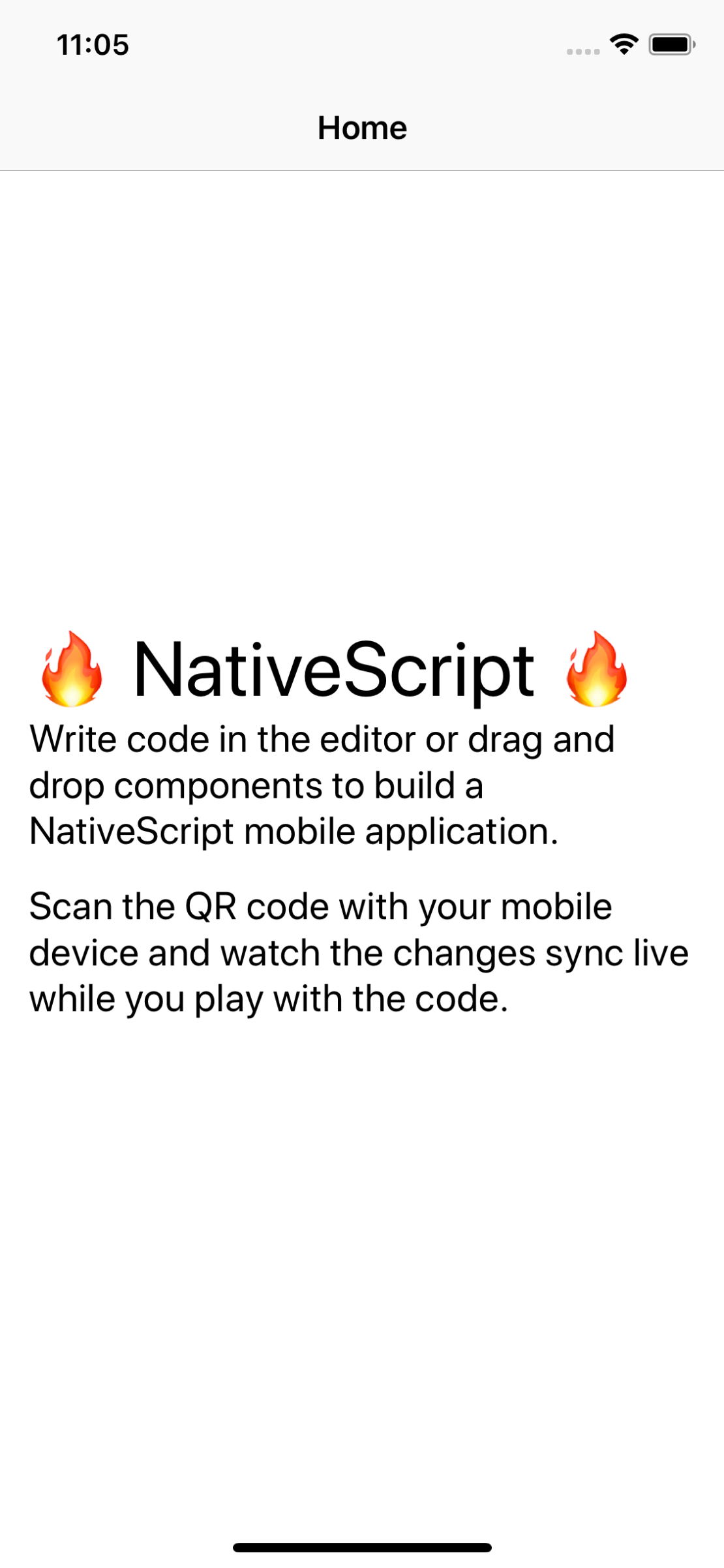 Play and Try NativeScript on Your Device – {N} Playground